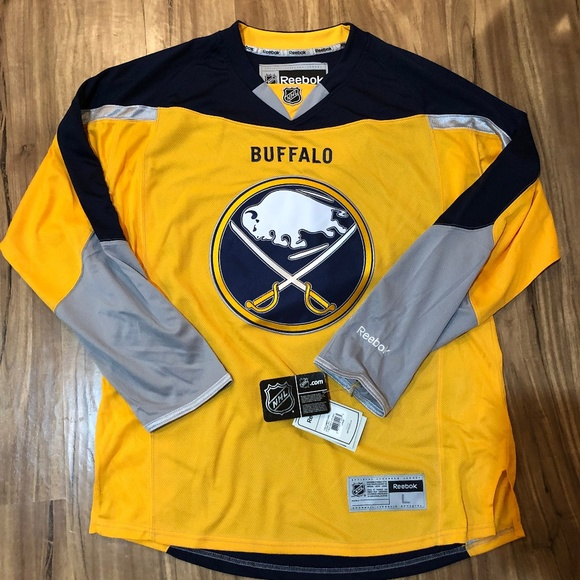 the latest 1c815 9f629 Reebok Authentic NHL Jersey Buffalo Sabres Alt NWT